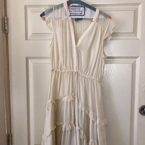 Anthropologie Silk Dress sz 6